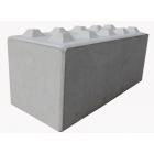 Concrete Lego Block