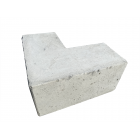 Concrete Pad Corner