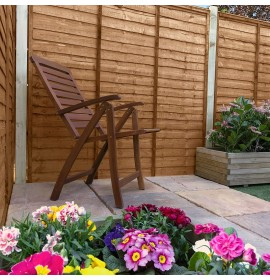 Shiplap Timber Panel - Brown