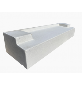 Cast Stone Stooled Sill T-Frame - 225x140