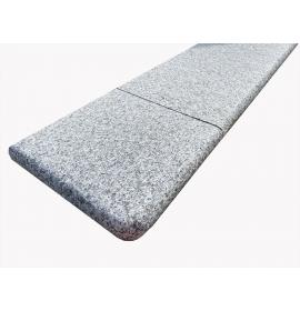 Silver Granite Corner Step