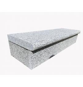 Silver Granite Bullnosed Step