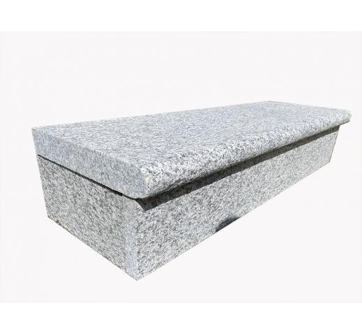 Silver Granite Step Riser