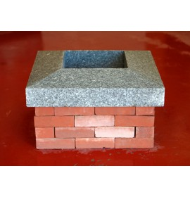 Silver Granite Chimney Capping