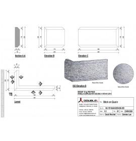 Cast Granite Quoin Stick